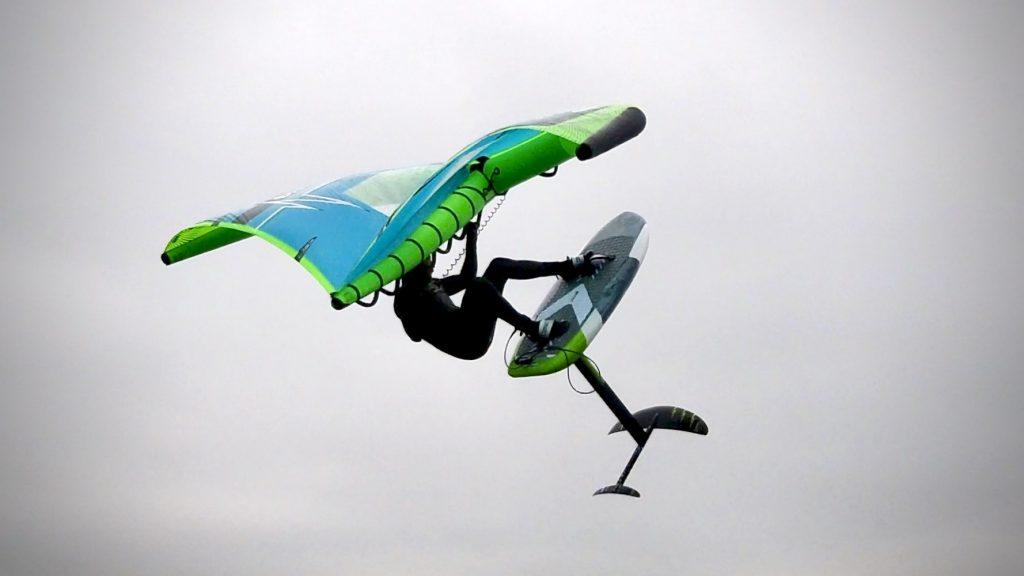 Wing Foil Jump Springen